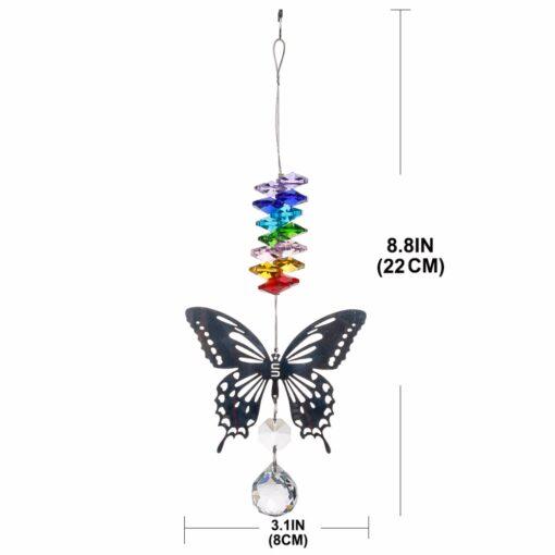 2650 v2yrxa 510x510 - H&D 20mm/38mm Handmade Butterfly Crystal Ball Prism Rainbow Maker Hanging Suncatcher Ornament - garden-supplies -