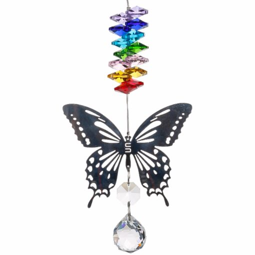 2650 yoy0w9 510x510 - H&D 20mm/38mm Handmade Butterfly Crystal Ball Prism Rainbow Maker Hanging Suncatcher Ornament - garden-supplies -