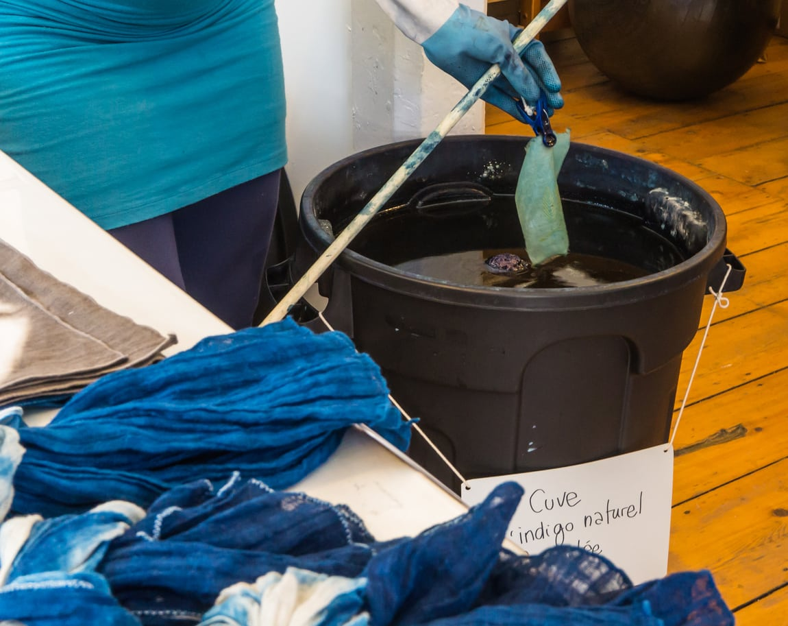 1541981248 learn about the indigo dyeing process takeseeds com - Learn About The Indigo Dyeing Process