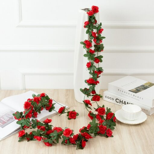 250CM Rose Artificial Flowers for Home Decoration