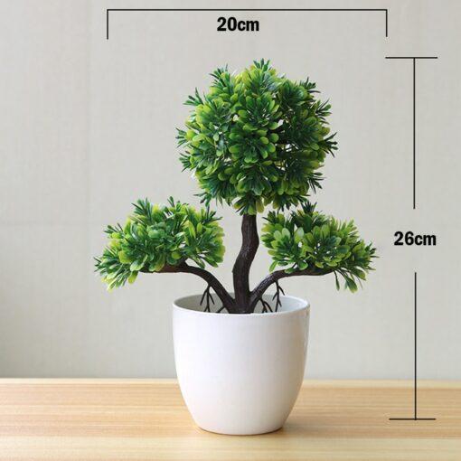 Artificial Plants Potted Bonsai Garden Decoration